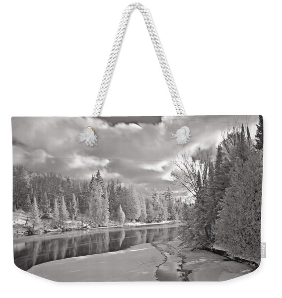 Ausable River Infrared 6283 Weekender Tote Bag