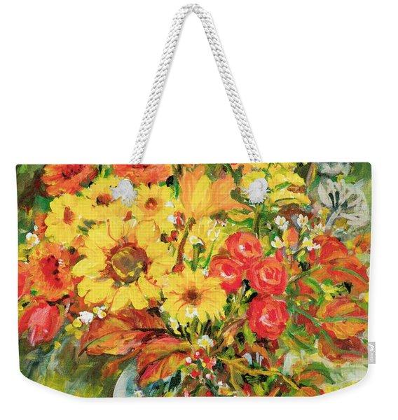Autumn Arrangement Weekender Tote Bag