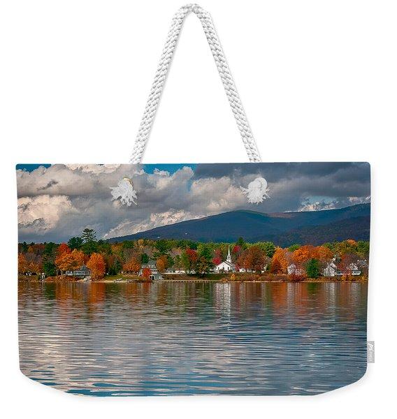 Autumn In Melvin Village Weekender Tote Bag