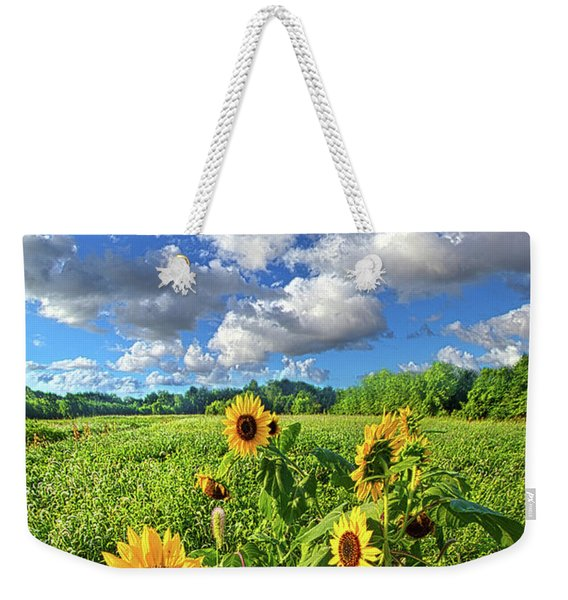 Autumn Is Near Weekender Tote Bag