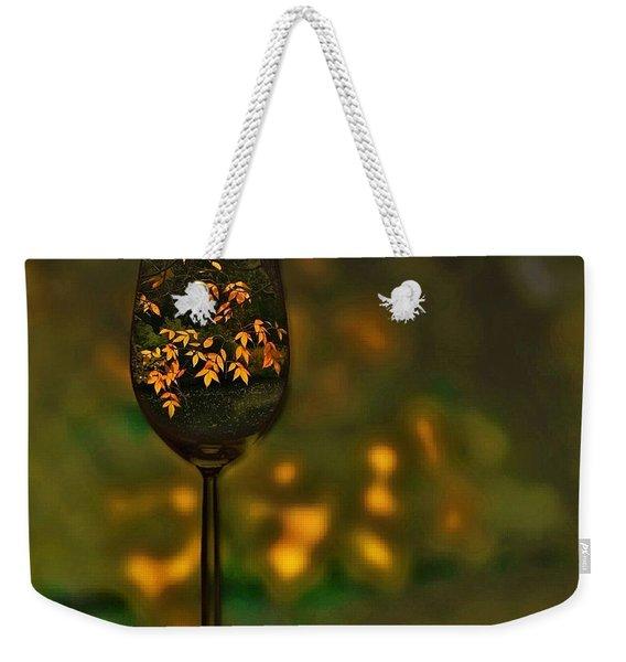 Autumn Vintage Weekender Tote Bag