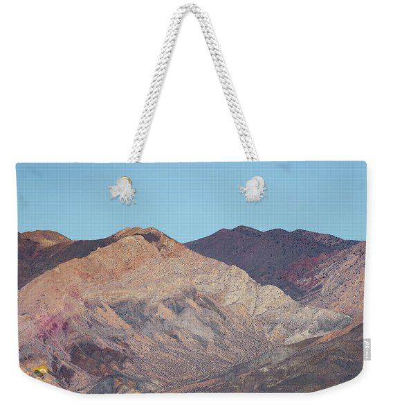 Weekender Tote Bag featuring the photograph Avawatz Mountain by Jim Thompson