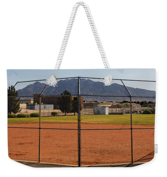 Away Game Weekender Tote Bag