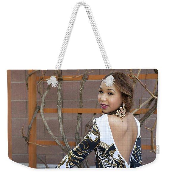 Baby Back Cathy Weekender Tote Bag