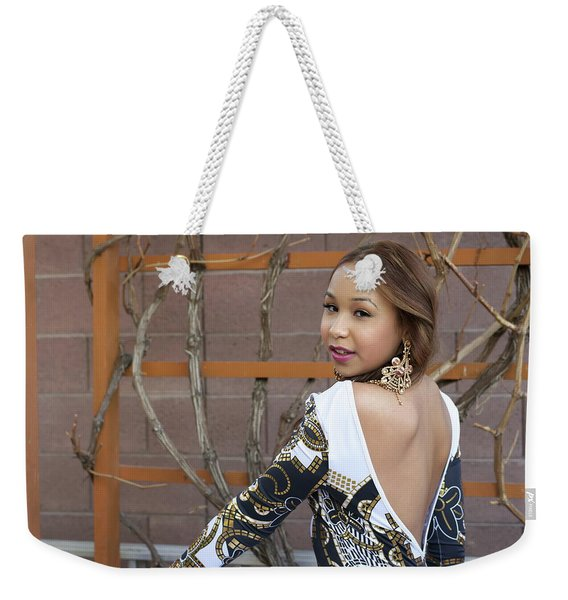 Baby Back Cathy Weekender Tote Bag