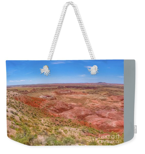 Weekender Tote Bag featuring the photograph Badlands South Dakota by Benny Marty