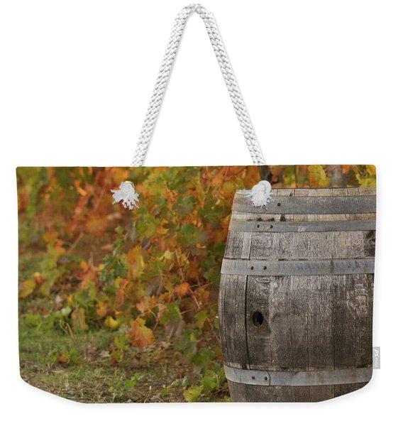 Barrel Weekender Tote Bag