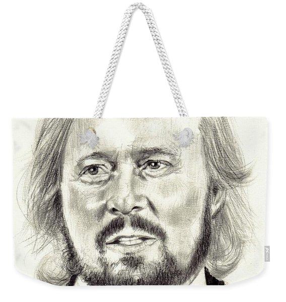 Barry Gibb Portrait Weekender Tote Bag