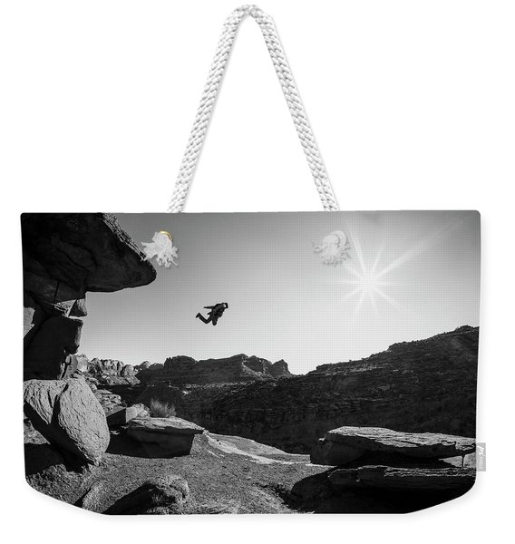 Base Jumper Weekender Tote Bag