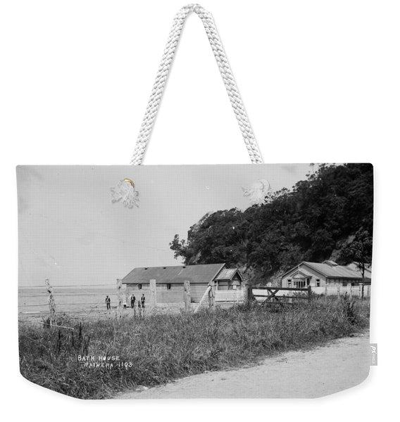 Basketball Team, Standing 1909 Weekender Tote Bag