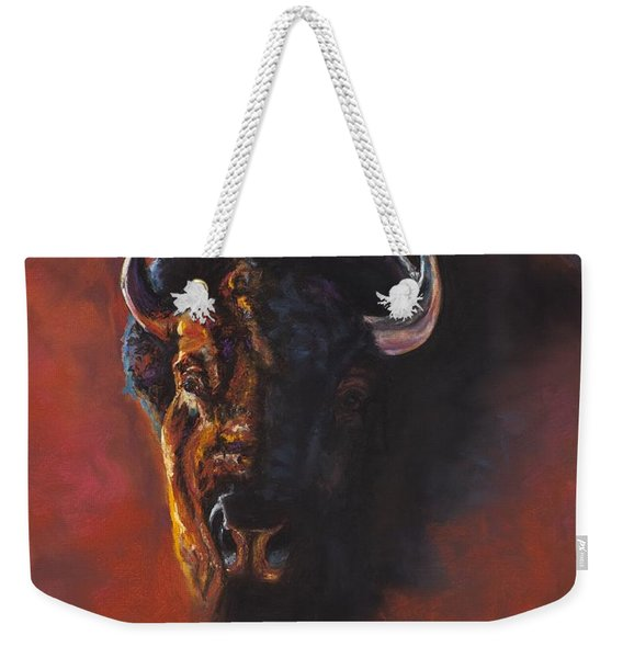 Basking In The Evening Glow Weekender Tote Bag
