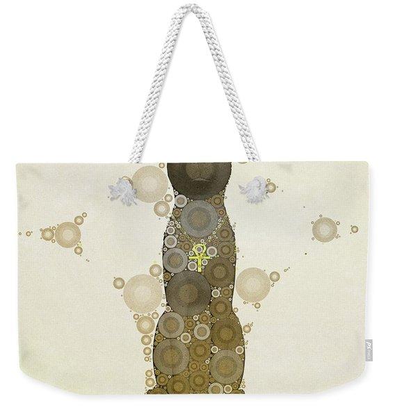 Bastet, Goddess Of Egypt, Pop Art By Mb Weekender Tote Bag