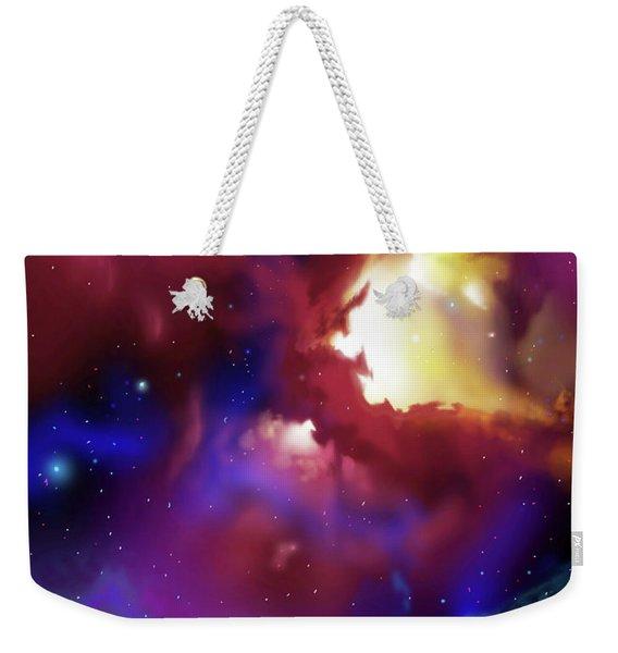 Bat Nebula Weekender Tote Bag