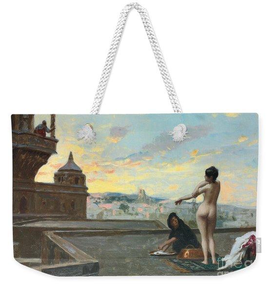 Bathsheba Weekender Tote Bag