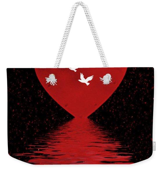 Be Mine Weekender Tote Bag