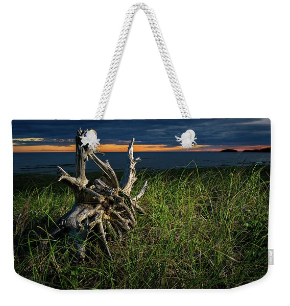Weekender Tote Bag featuring the photograph Beached II by Doug Gibbons