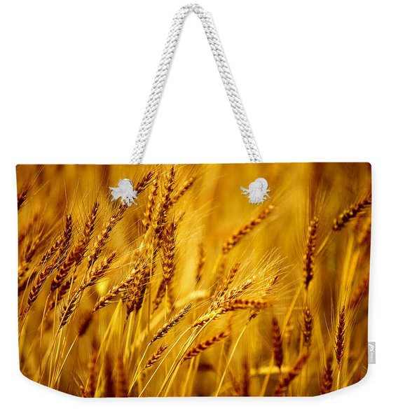 Bearded Barley Weekender Tote Bag
