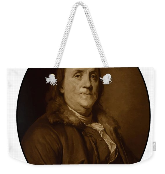 Benjamin Franklin - Three Weekender Tote Bag
