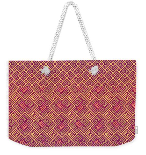 Bibi Khanum Ds Patterns No.5 Weekender Tote Bag