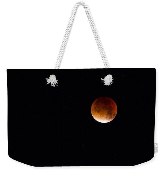Blood Moon Super Moon 2015 Weekender Tote Bag