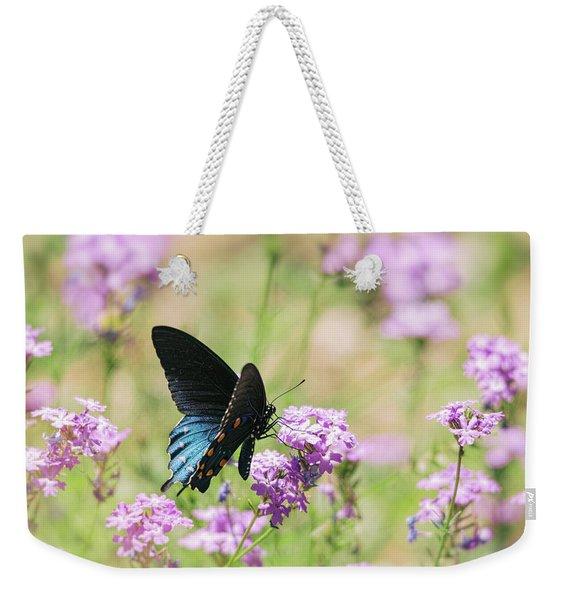 Blue Swallowtail Butterfly  Weekender Tote Bag