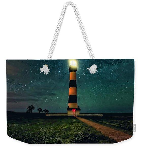 Bodie Island Night Weekender Tote Bag