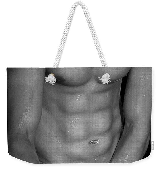 Body Art Weekender Tote Bag