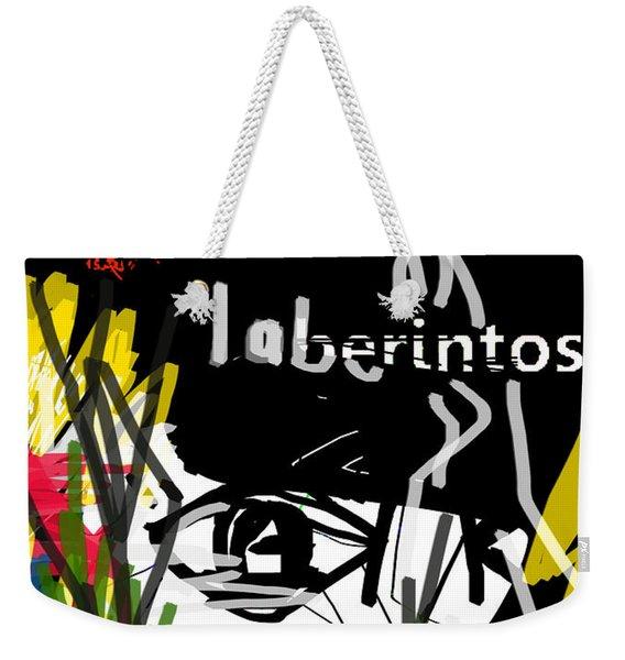 Borges' Labyrinths Poster Weekender Tote Bag