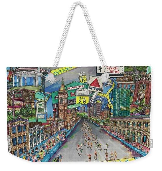 Boston Strong Weekender Tote Bag