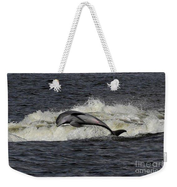 Bottlenose Dolphin Weekender Tote Bag