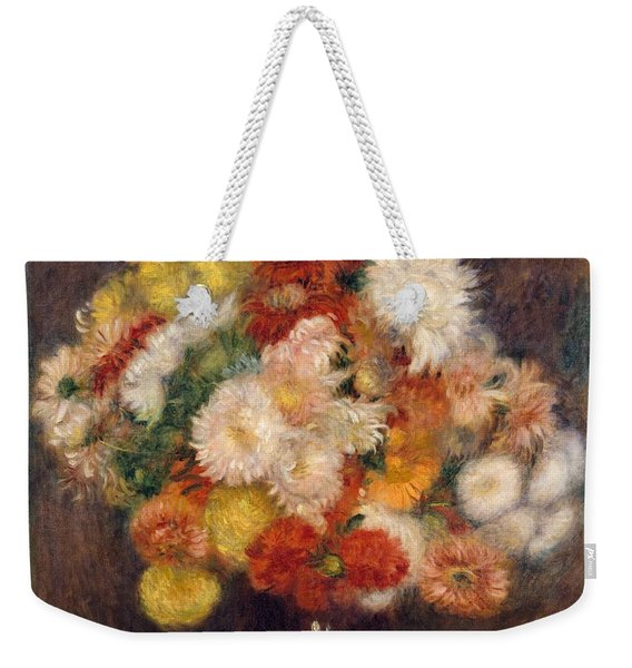 Bouquet Of Chrysanthemums Weekender Tote Bag