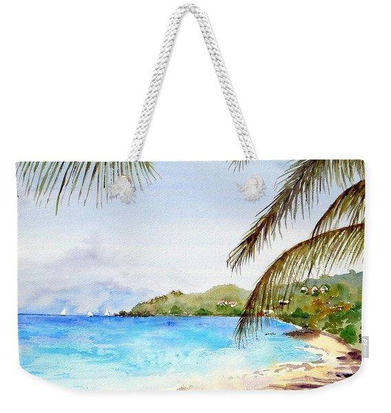 Brewers Bay Beach Weekender Tote Bag