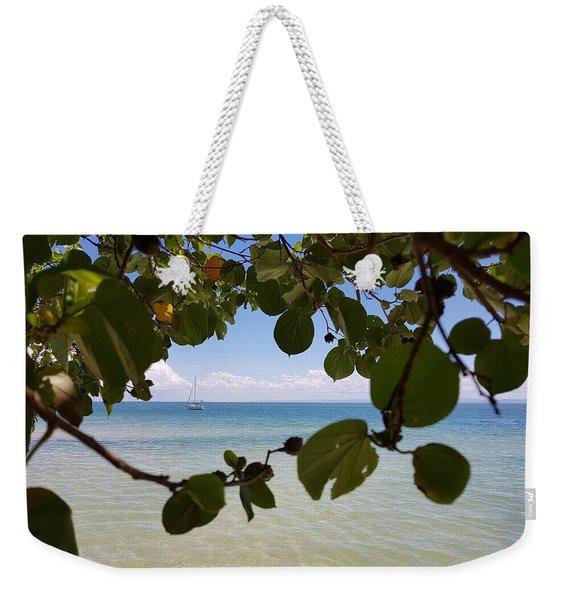 Bribie View Weekender Tote Bag
