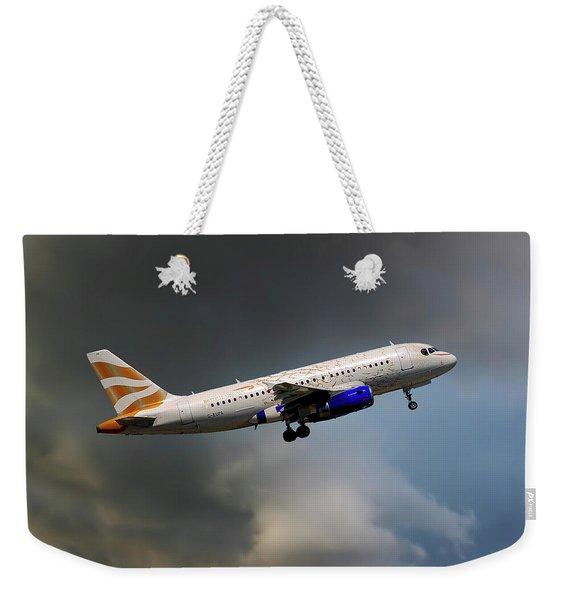 British Airways Airbus A319-131 Weekender Tote Bag