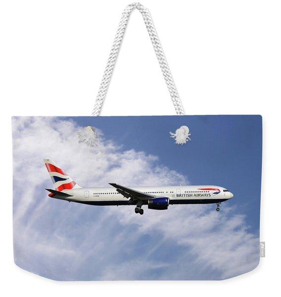 British Airways Boeing 767-336 Weekender Tote Bag