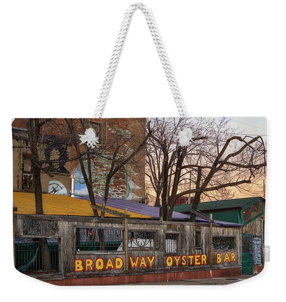 Broadway Oyster Bar Weekender Tote Bag