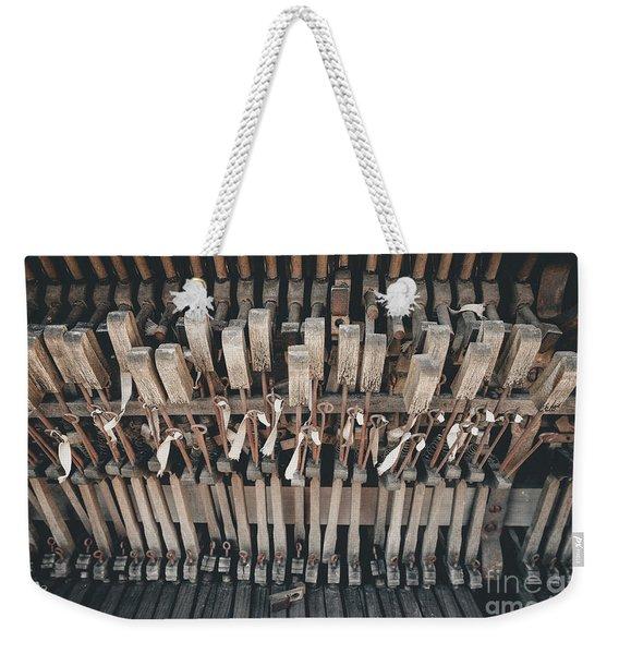 Broken Piano Weekender Tote Bag