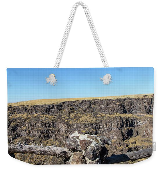 Bruneau Canyon Overlook, Idaho Weekender Tote Bag