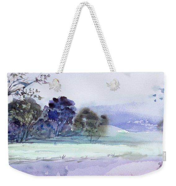 Bruny Island At Dusk Weekender Tote Bag