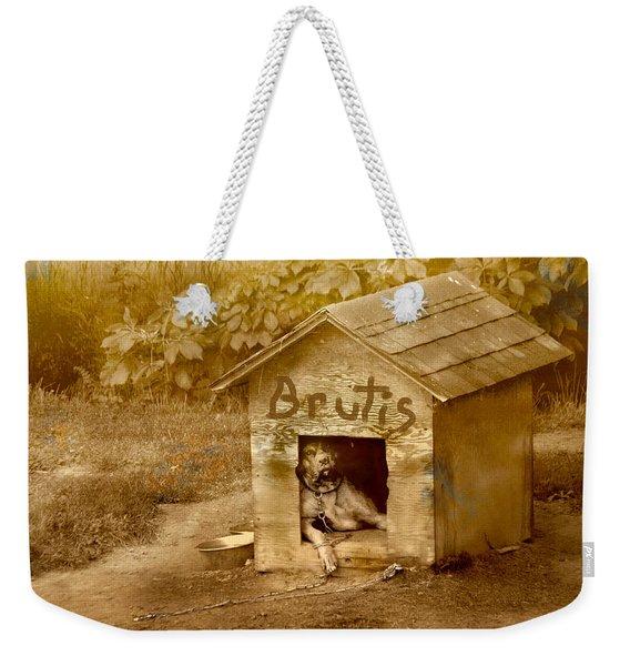 Brutis Weekender Tote Bag