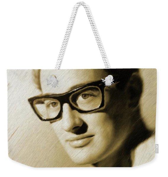 Buddy Holly, Music Legend Weekender Tote Bag