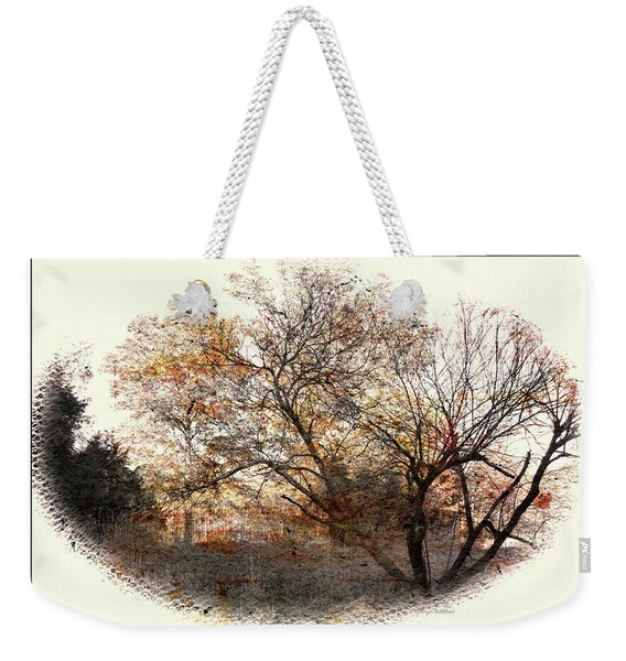 Bull Run Autumn Weekender Tote Bag