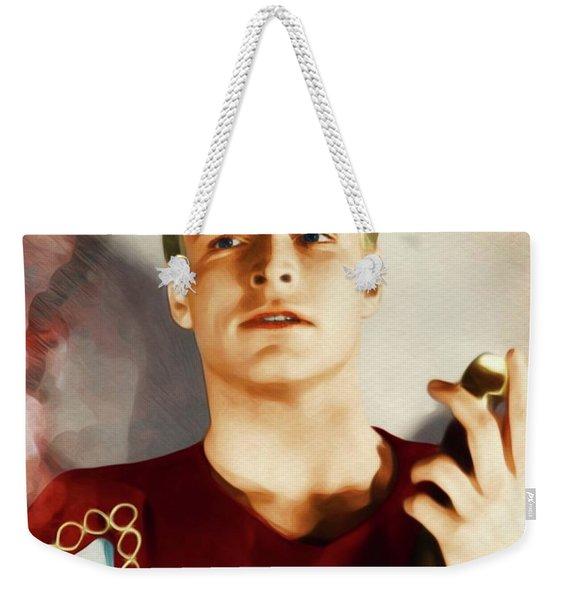 Buster Crabbe As Flash Gordon Weekender Tote Bag
