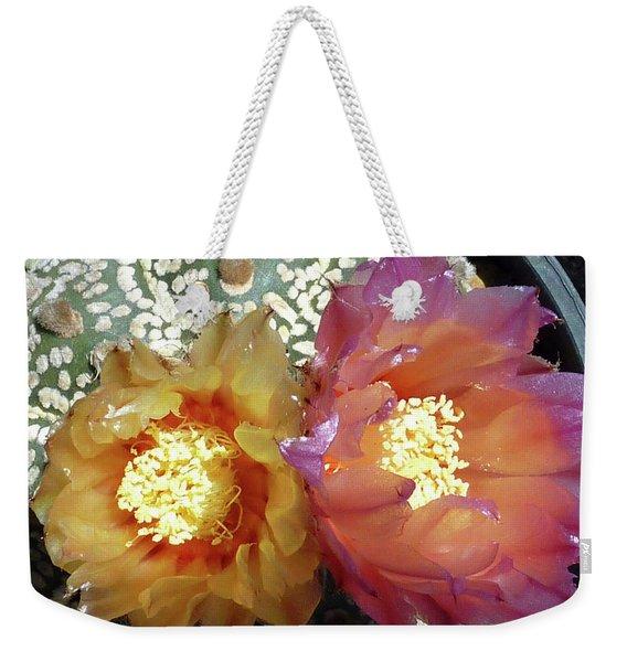 Cactus Flower 3 Weekender Tote Bag