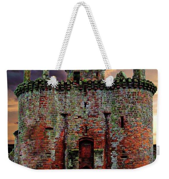 Caerlaverock Castle Weekender Tote Bag