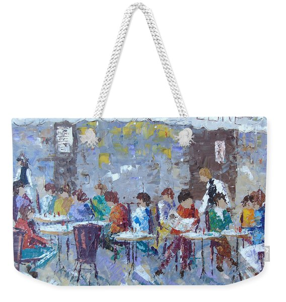 Cafe De Flore Paris Weekender Tote Bag