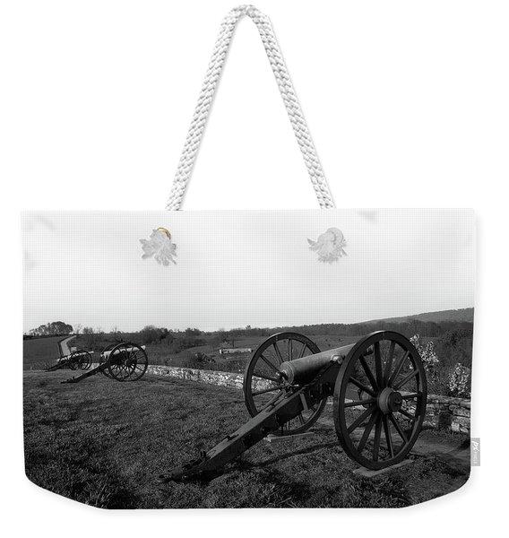 Cannon At Antietam Battleground  Weekender Tote Bag