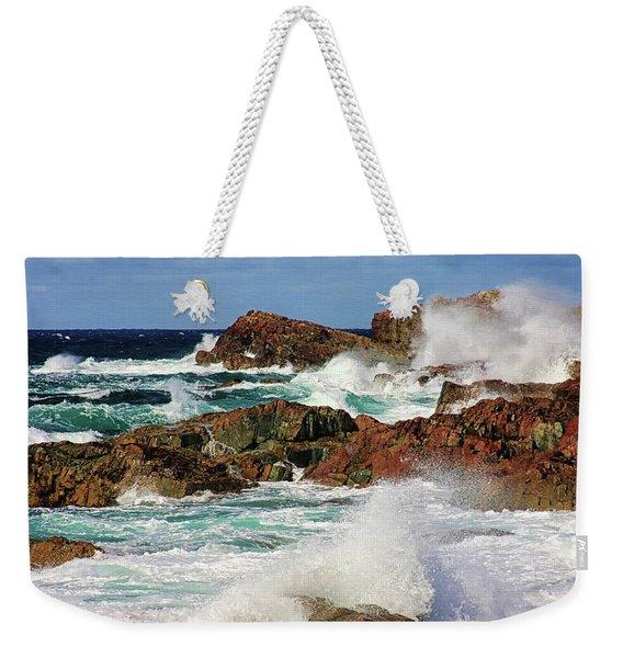 Cape Bonavista, Newfoundland Weekender Tote Bag