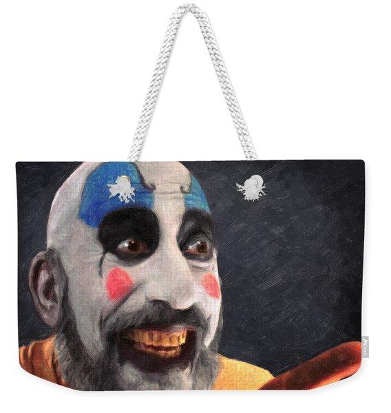 Captain Spaulding Weekender Tote Bag