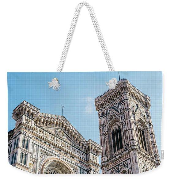 Cattedrale Di Santa Maria Del Fiore Is The Main Church Of Floren Weekender Tote Bag